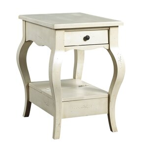 D'Orsay End Table with Storage by French Heritage