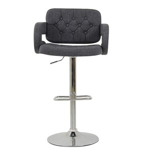 Chase Height Adjustable Swivel Bar Stool by dCor design