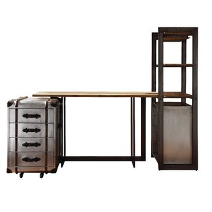 Annessia 4 Piece Pub Table Set