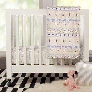 Desert Dreams Mini 4 Piece Crib Bedding Set