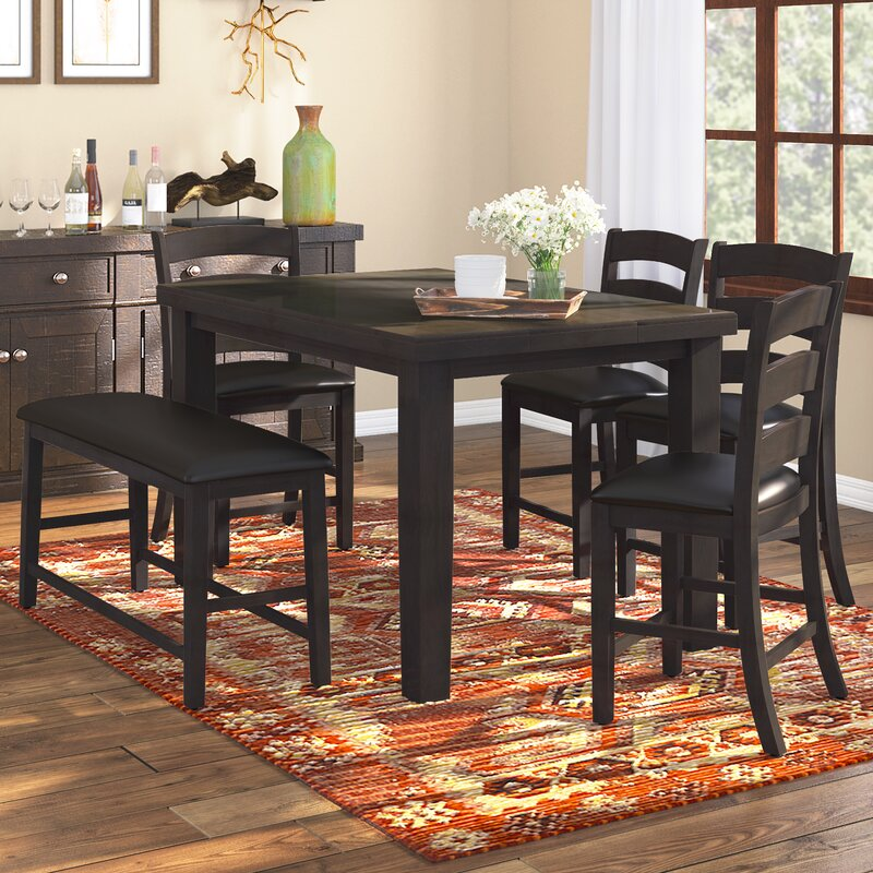 Ordinaire Bodie 6 Piece Counter Height Dining Set