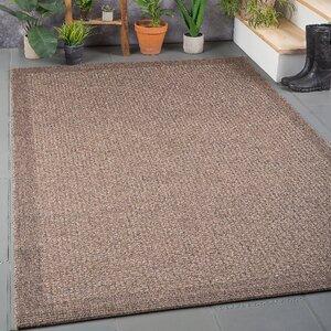 Felipe Mocha Indoor/Outdoor Area Rug