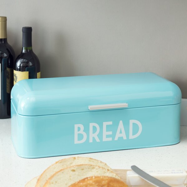 Turquoise Bread Box Delectable Turquoise Bread Box Wayfair