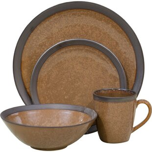 Save  sc 1 st  Wayfair & Brown Dinnerware Sets You\u0027ll Love | Wayfair