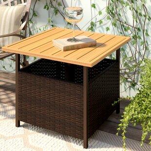 Flatiron Plastic Resin Side Table