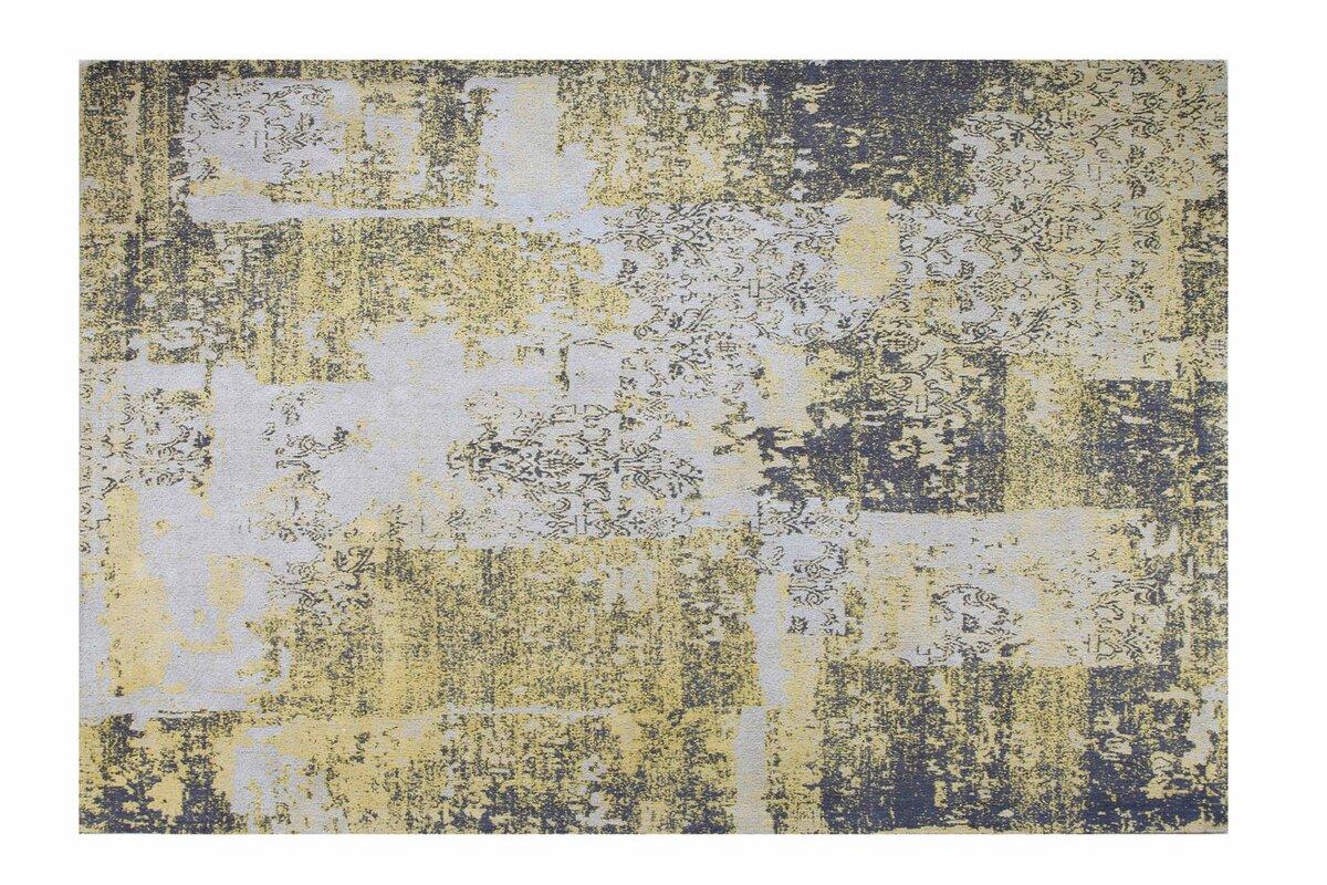 wildon home teppich harmony in gelb grau bewertungen. Black Bedroom Furniture Sets. Home Design Ideas