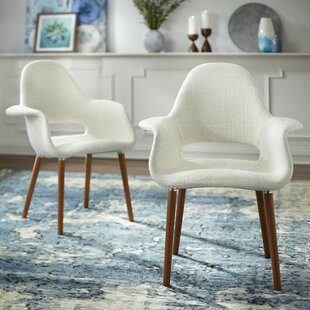 Camacho Upholstered Dining Chair (Set of 2)