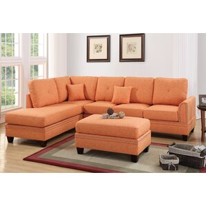 Joseph Reversible Sectional by Alcott Hill
