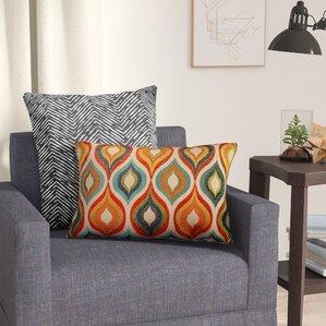 Woodlynne Jewel Lumbar PillowLumbar Pillows You ll Love   Wayfair. Pillows Living Room. Home Design Ideas