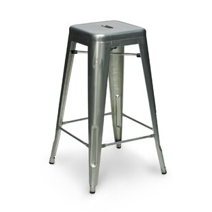 Crose 30 Metal-Galvanized Bar Stool (Set of 4)