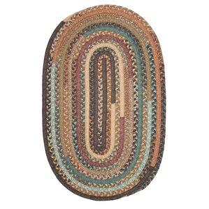 surette warm chestnut kitchen area rug