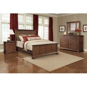 Retreat Cherry Queen Panel Configurable Bedroom Set
