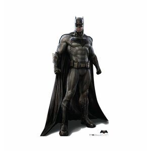 batman v superman batman dawn of justice life size cardboard cutout