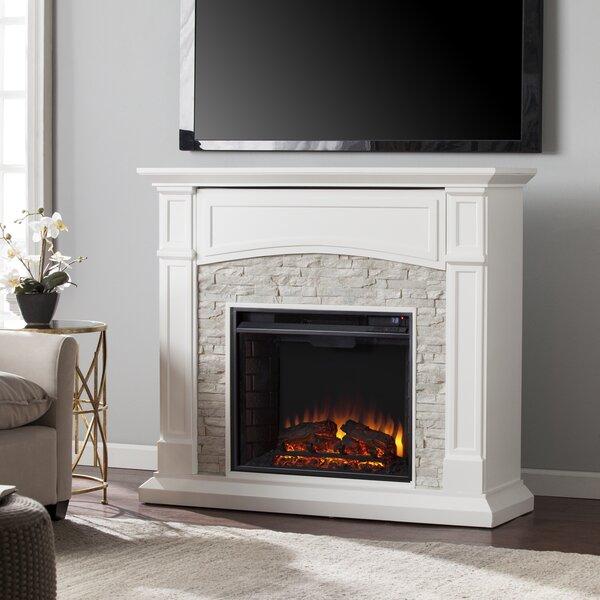 Beachcrest Home Cameron Electric Fireplace Amp Reviews Wayfair