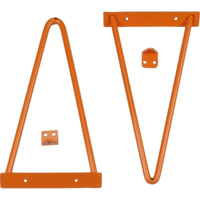 Tronk Design Adams Shelf Bracket Finish: Orange