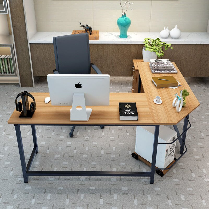 Ebern Designs Tetrick L Shaped Computer Desk Amp Reviews