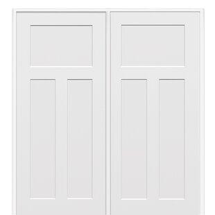 Prehung interior doors youll love wayfair craftsman mdf 3 panel prehung interior door planetlyrics Choice Image