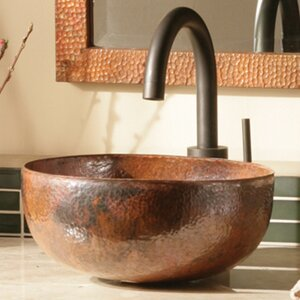 Maestro Petit Circular Vessel Bathroom Sink