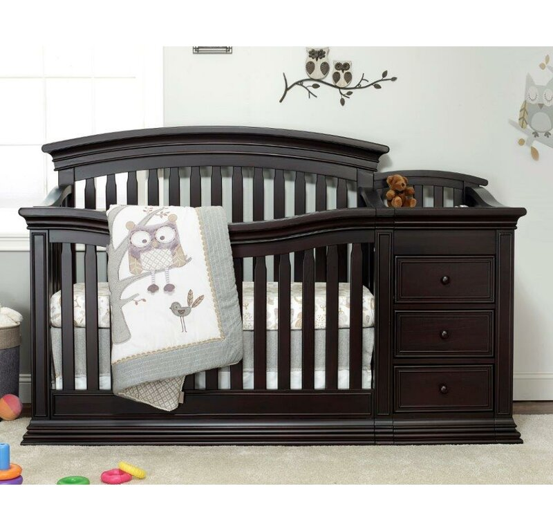 Sorelle Sedona 4 In 1 Convertible Crib And Changer Reviews Wayfair