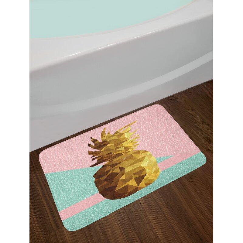 Green And Brown Bath Rug - Area Rug Ideas