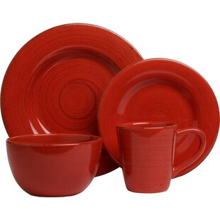 Save  sc 1 st  Wayfair & Red Dinnerware Sets Youu0027ll Love | Wayfair