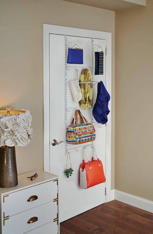 Adjustable Overdoor Hanging Organizer