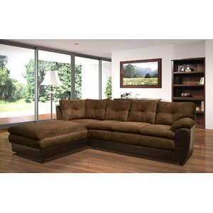 Brewster Reversible Sectional  sc 1 st  Wayfair : brown suede sectional - Sectionals, Sofas & Couches