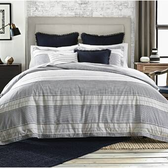 f261d0247dacc Laurel Dobby 100% Cotton Duvet Cover Set. by Tommy Hilfiger
