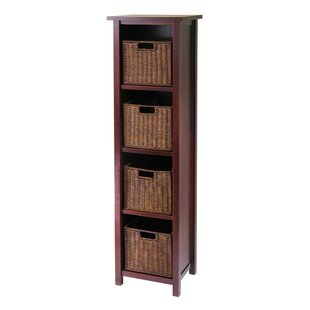 Bunker Hill 4 Drawers Tall Storage Shelf