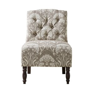 Lenox Tufted Slipper Chair by Charlton Home