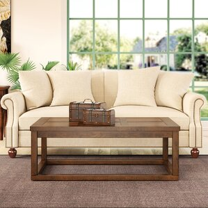 Whiteweed Coffee Table by Bay Isle Home