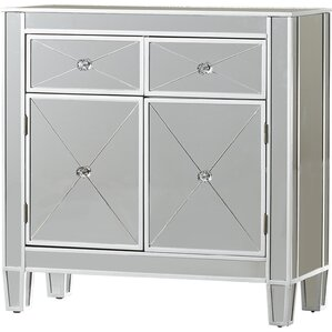Exceptional Brittany Mirrored Cabinet