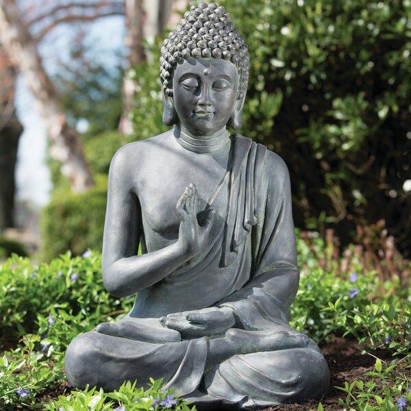 Alfresco Home Thai Buddha Garden Statue U0026 Reviews | Wayfair