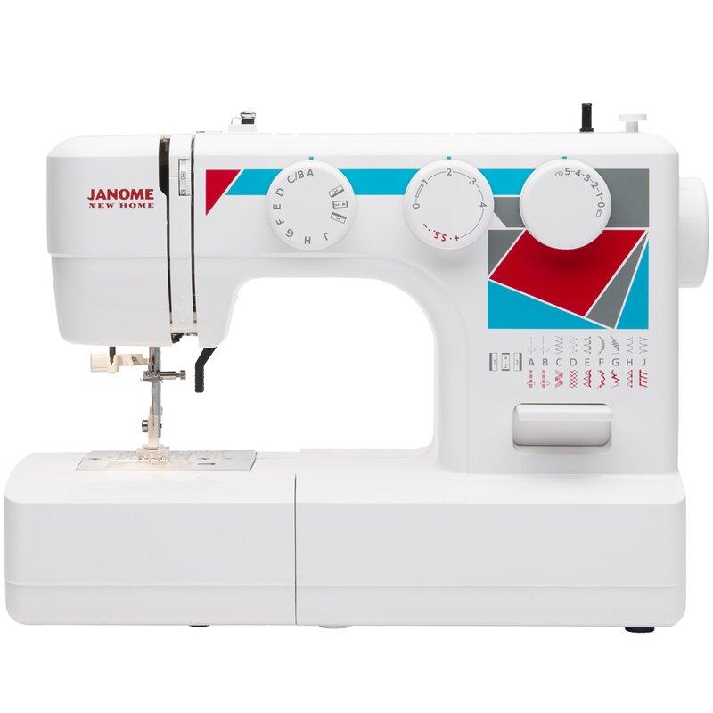 Janome Janome MOD40 EasytoUse Basic Sewing Machine Wayfair Mesmerizing Basic Sewing Machine