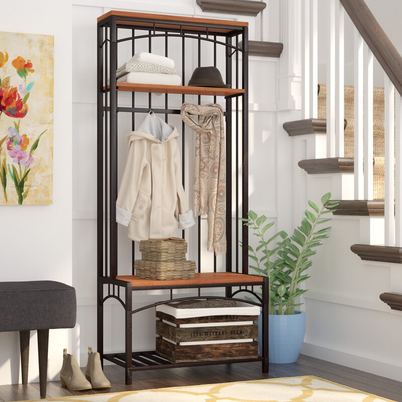 Foyer Storage Near Me : Rossiter entryway hall tree reviews birch lane