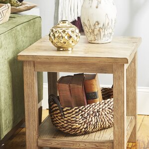 Flores End Table by August..