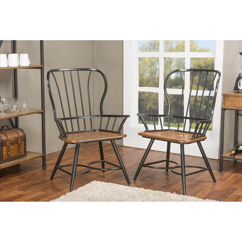 Kitchen Chairs With Arms: Longford Arm Chair & Reviews