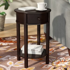 Baltimore End Table With Storage by An..