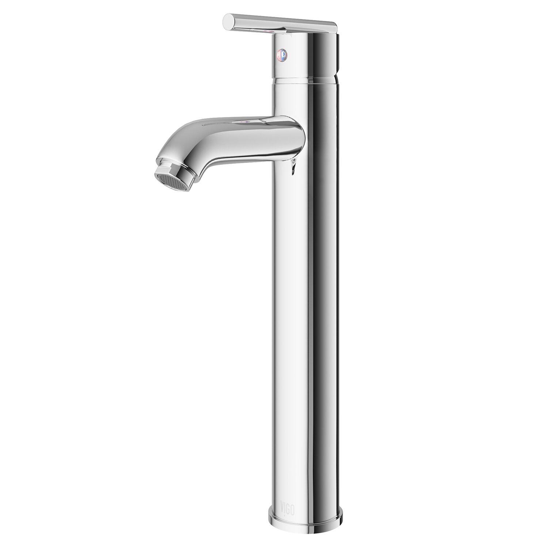 VIGO Seville Single Lever Vessel Bathroom Faucet & Reviews | Wayfair