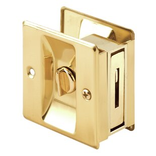 Privacy Lock Pocket Door Hardware With Pull