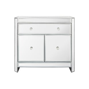 Merveilleux Huddleston 2 Door Mirrored Accent Cabinet