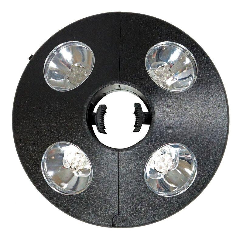 Marlena Patio Umbrella LED Lighting