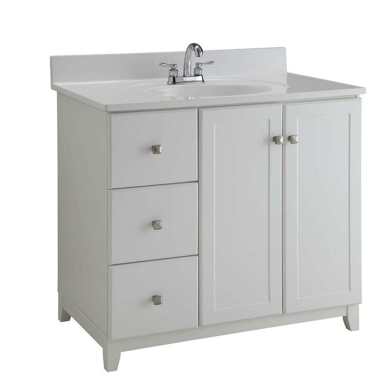 36 Single Bathroom Vanity Base
