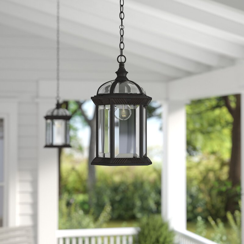 Hanging Outdoor Lights Without Trees: Laurel Foundry Modern Farmhouse Sarah 1-Light Outdoor