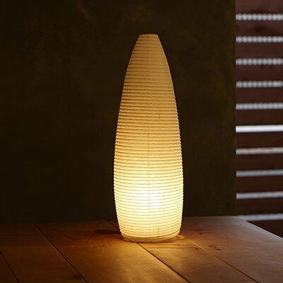"Paper Cone Moon 9.25"" Table Lamp Asano"