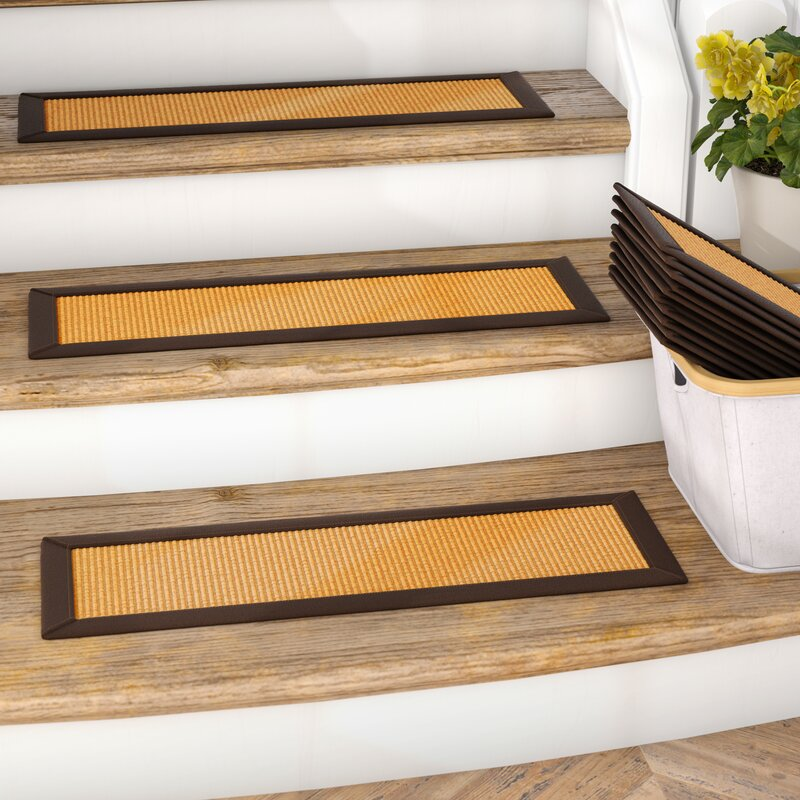 Dawes Sisal Carpet Gold Stair Tread