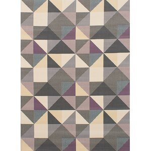 Starns Cream/Dark Gray Area Rug