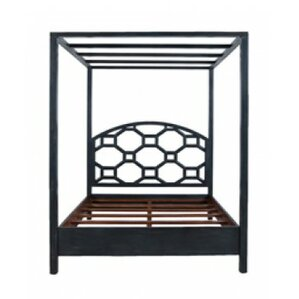 Dulce Canopy Bed by World Menagerie