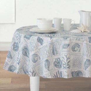 Cerritos Stain Resistant Vinyl Tablecloth