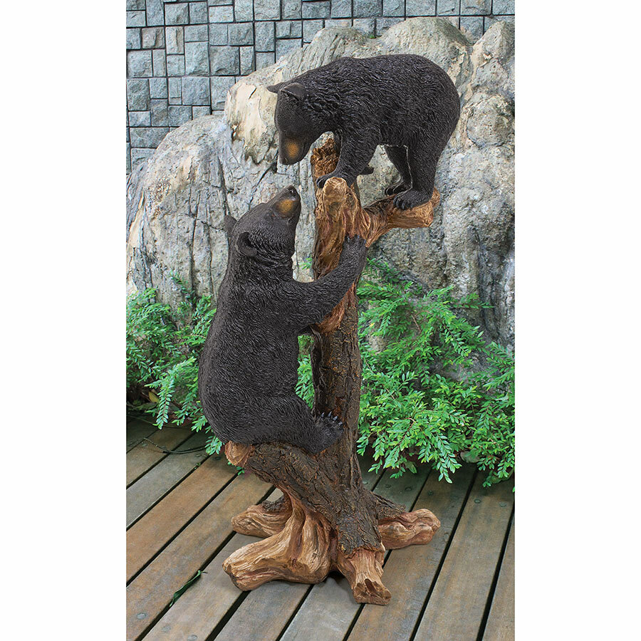 Awe Inspiring Wooden Bear Statue Youll Love In 2019 Wayfair Download Free Architecture Designs Scobabritishbridgeorg